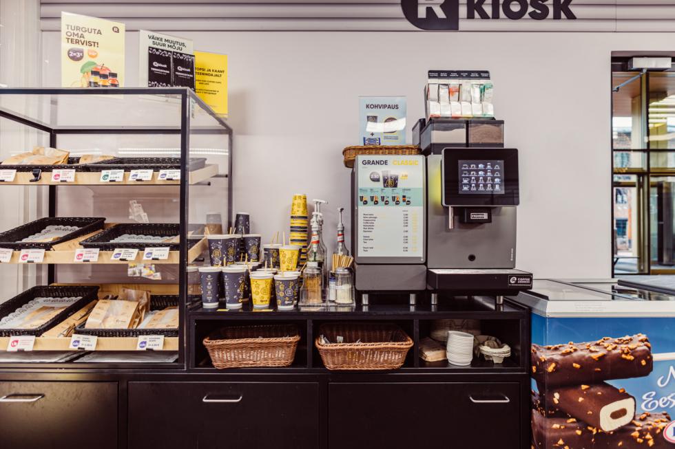 R-kiosk, Öpik